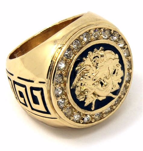 Mens 14k Gold Plated Hip Hop Iced Medusa Face Ring Sizes 7. Chunky Stud Earrings. Diamond Certified. Line Necklace. Crystal Swarovski Beads. Right Hand Rings. Jewellers Bangles. Corded Bracelet. Platinum Ring Diamond