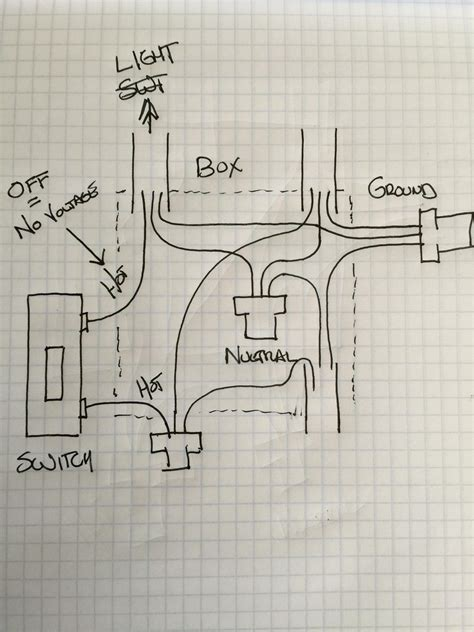 Wiring A Switch To An Schematic by Electrical How Can I Replace A Single Pole Light Switch