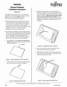Screen Protector Fmwsp8 Manuals
