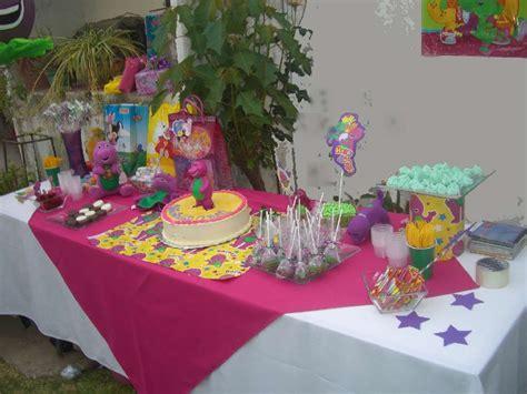 Lovely Barney Birthday Party