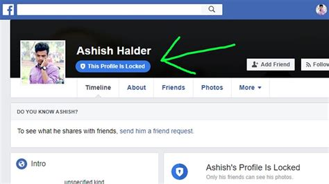How Lock Your Facebook Profile Youtube