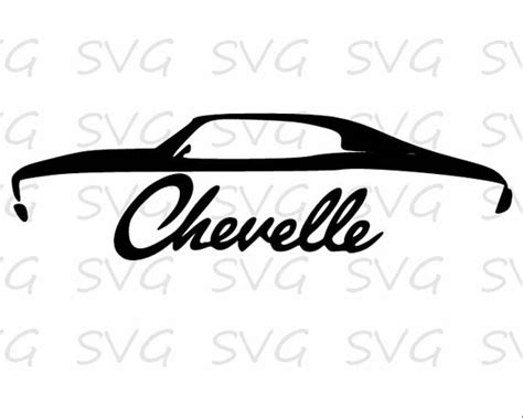 Just use vector magic to convert any image to svg. Chevelle svg dxf fcm eps and png.