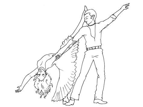 dessin de danseuse moderne jazz coloriage 195 dessiner danseuse 195 imprimer