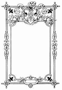 Ornate Vintage Frame ~ Free Clip Art | Old Design Shop Blog