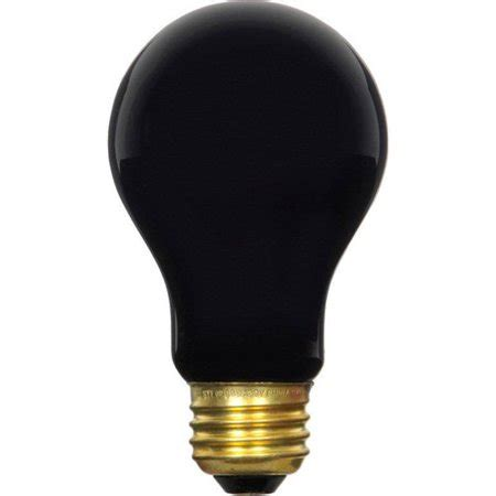 sylvania 11715 60a blacklight rp 120v incandescent black