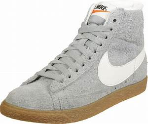 Nike Blazer Mid Suede Vintage W shoes grey heather brown