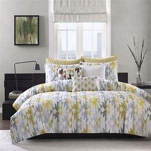 Sierra, Yellow, By, Ink, U0026, Ivy, Bedding