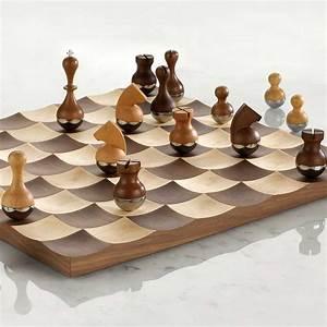 Schachspiel Holz Edel : designer schachspiel chess set schach schachbretter ~ Watch28wear.com Haus und Dekorationen