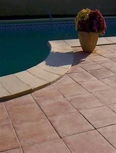 Carrelage Tour De Piscine : carrelage exterieur et dalle piscine carrelage en ligne ~ Edinachiropracticcenter.com Idées de Décoration