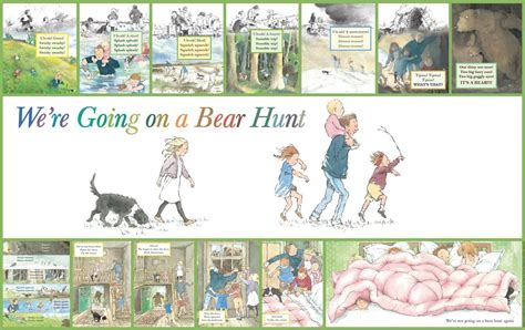 We're Going On A Bear Hunt Story Frieze  Playground Basics