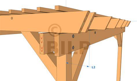 plan de pergola en bois gratuit dimensions g 233 n 233 rales de ma pergola le guide de construction des pergolas et tonnelles