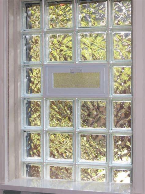 glass block windows bathroom windows  st louis