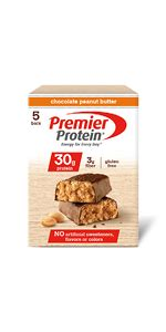 Amazon.com: Premier Protein Nutrition Bar, Chocolate
