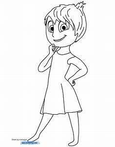 Inside Out Characters Coloring Pages Coloring Pages