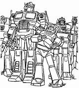 Robots Coloring Pages Print Boys Transforming Robot sketch template