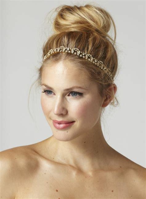 frisuren mit dünnem haar frisuren mit haarband inspirierende stilvolle ideen