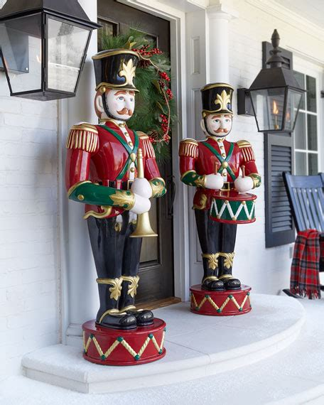 outdoor nutcrackers for sale at lowes drummer soldier