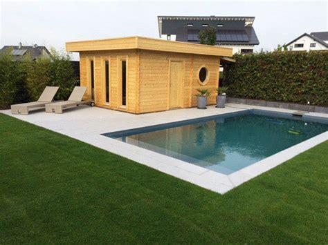 pool im garten integrieren wellness garten mit sauna und swimmingpool gartensauna garten sauna im garten und saunahaus