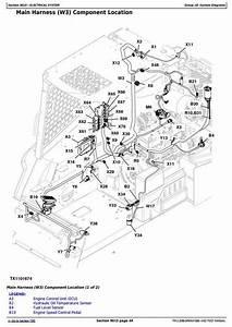 John Deere 318d  320d Skid Steer Loader With Manual