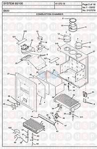 Baxi System 60  100 Appliance Diagram  Combustion Chamber