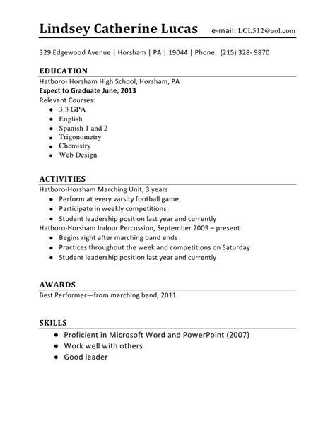 sle resume for teenagers jennywashere