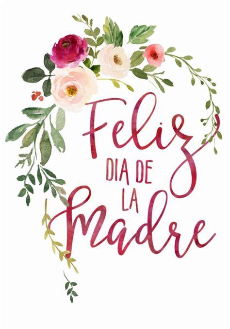 Feliz Dia De La Madre Flower Wreath Postcard Zazzle com