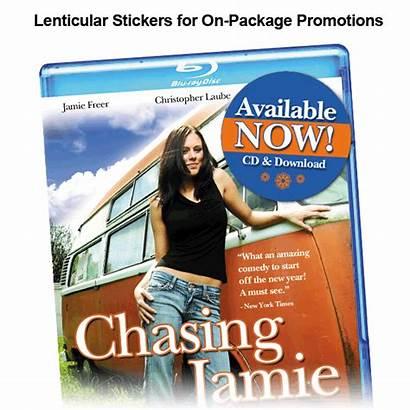 Lenticular Labels Stickers Current