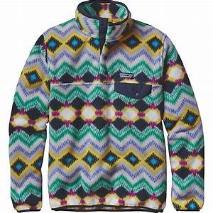 Patagonia Women's Synchilla Lightweight Snap-T Pullover ...