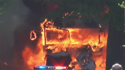 horrible wreck bugzilla explodes into flames school explodes minutes after children removed