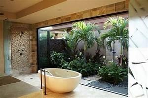 Salle de bain zen 25 idees de decoration for Salle de bain design avec fil métallique décoratif