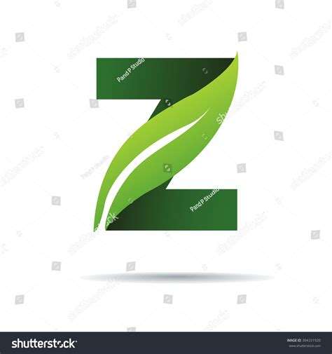 green eco letters logo leaves stock vector 428112841 green eco letters z logo leaves stock vector 394331920