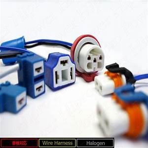 H7 Ceramic Heavy Duty Wire Harness Connector For Headlights