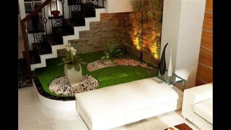 interior home design living room small garden stairs