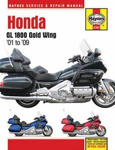 Honda Gl 1800 Gold Wing Haynes Repair Manual  2001