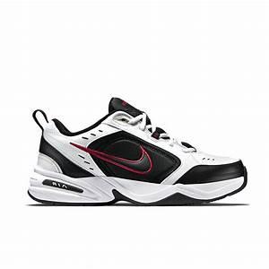 Nike Air Monarch IV White / Black / Varsity Red   Shoe Kahuna