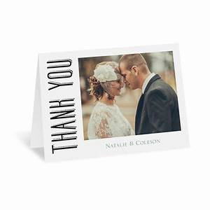 A wedding celebration thank you card invitations by dawn for Wedding thank you cards invitations by dawn