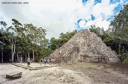 Ancient Buildings Historical Mexico Famous Pyramid Gifs