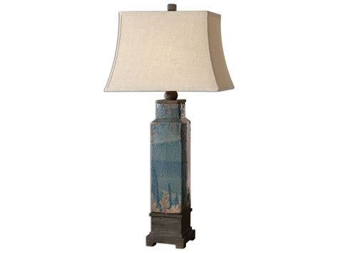 Uttermost Soprana Blue Table Lamp Decorating A Masculine Living Room Home Design Small Livingroom Grey Furniture Uk With Round Ottoman Storage Draperies Ideas Shop Liverpool