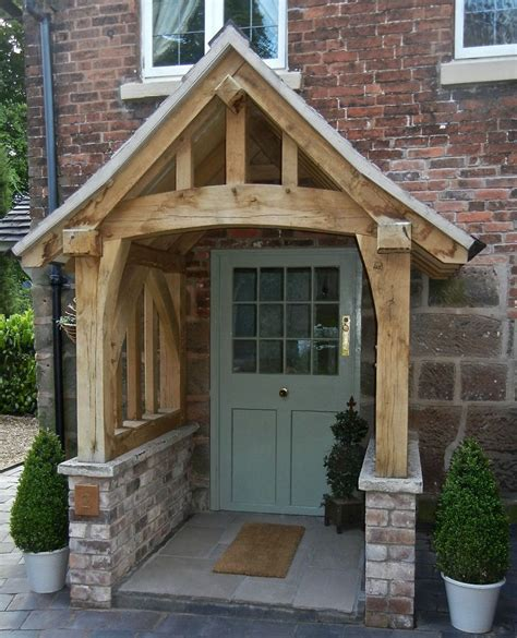 Windfang Hauseingang Holz by Oak Porch Doorway Wooden Porch Canopy Entrance Self