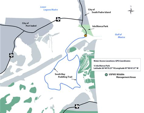 Tpwd State Tx Us Boat Renewal by Tpwd South Bay Paddling Trail Paddling Trails