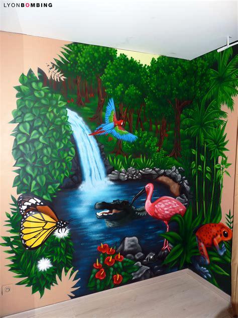 déco jungle chambre bébé chambre jungle chambre lyonbombing