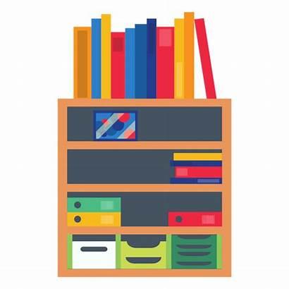 Transparent Shelf Clipart Office Bookshelf Svg Vexels