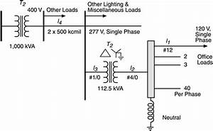 One Line Diagram Of Commercial Building Power Distribution
