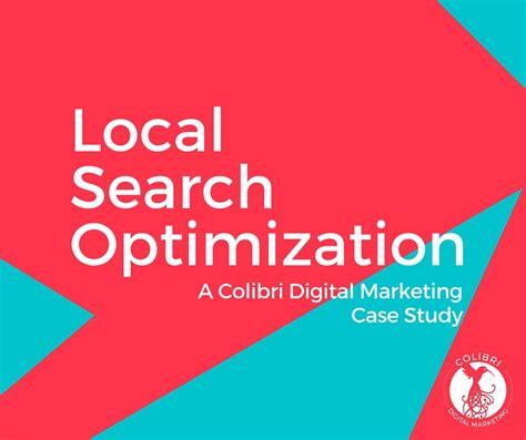 local search optimization local search optimization a study