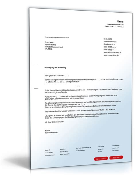fristlose kündigung mietwohnung durch vermieter k 252 ndigung mietvertrag fristgem 228 223 vermieter