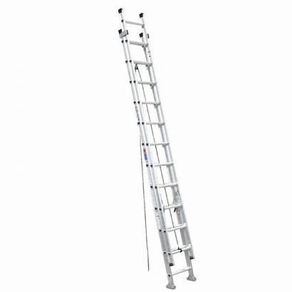 Extension Ladder Aluminum Ft Werner Load D1524