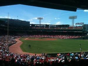 Chicago White Sox Seating Chart View Fenway Park Section Grandstand 2 Row 9 Seat 16 Boston