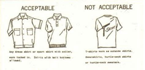 dress codes  etiquette part     wear