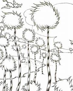 Truffula Trees Coloring Pages | www.imgkid.com - The Image ...