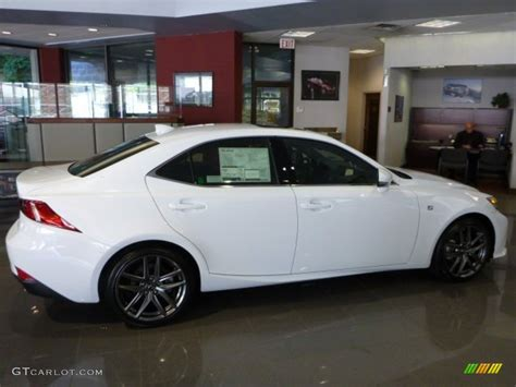 white lexus 2014 ultra white 2014 lexus is 250 f sport awd exterior photo